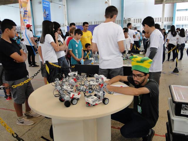 Sesi sedia em Porto Velho a 1ª Campus Party da Região Norte
