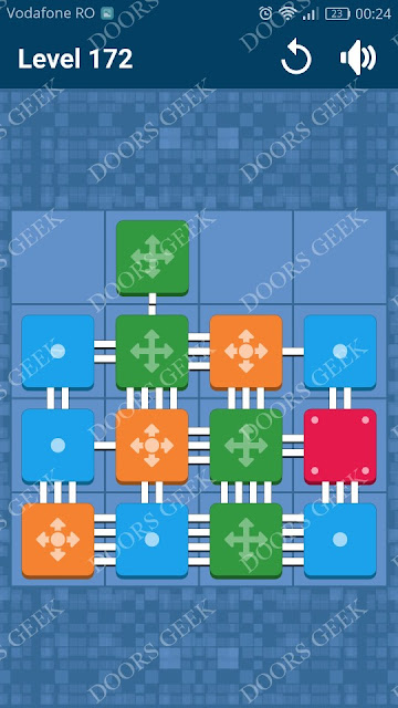 Connect Me - Logic Puzzle Level 172 Solution, Cheats, Walkthrough for android, iphone, ipad and ipod
