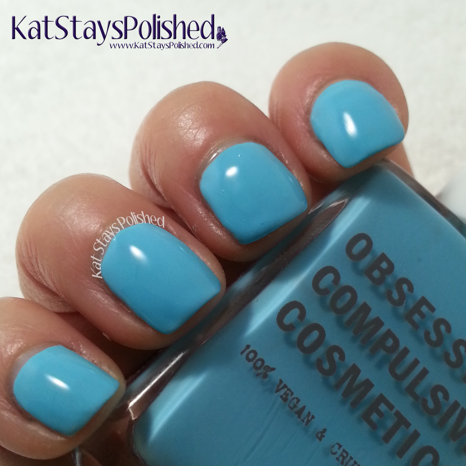 POPSUGAR Must Have Box - May | Obsessive Compulsive Cosmetics Pool Boy Nail Lacquer | Kat Stays Polished