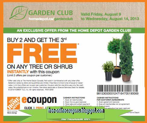 Home depot coupons december 2018 printable