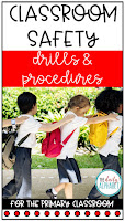 Classroom safety drills and procedures are important skills to practice during the first few weeks of school. This pack contains easy to implement activities and read alouds to make it so much easier!