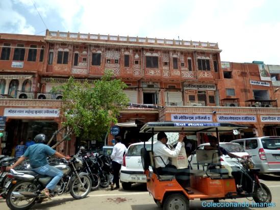 Una calle cualquiera de Jaipur