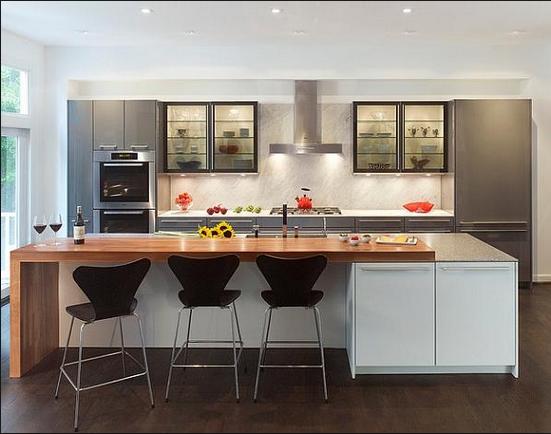 Contoh Desain Meja Dapur Minimalis Terbaru 2016