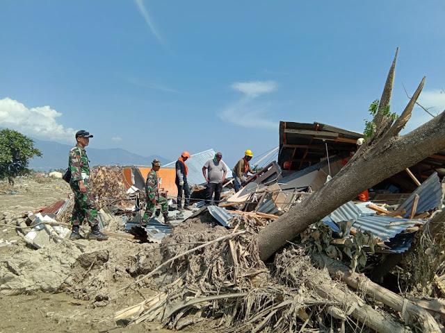 Satgas TNI AD Fokuskan Pencarian dan Evakuasi Korban Bencana Sulteng