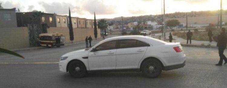 Acribillan a cunductor de transporte publico en Tijuana