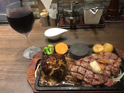 三軒茶屋にあるビッグベアの肉と赤ワイン