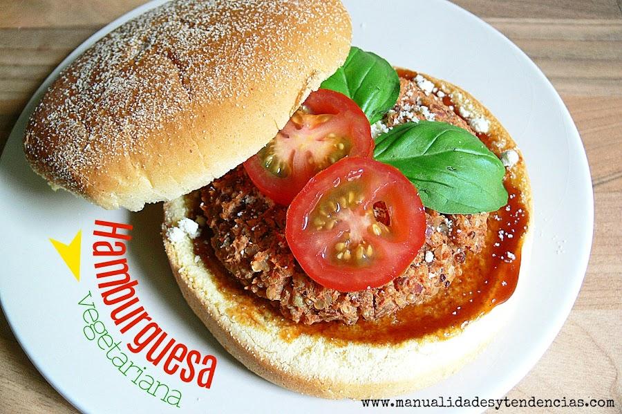 Hamburguesa vegana de judías pintas y quinoa