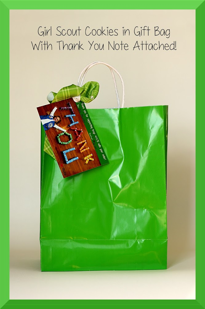 Girl Scout Personalized Cookie Bag