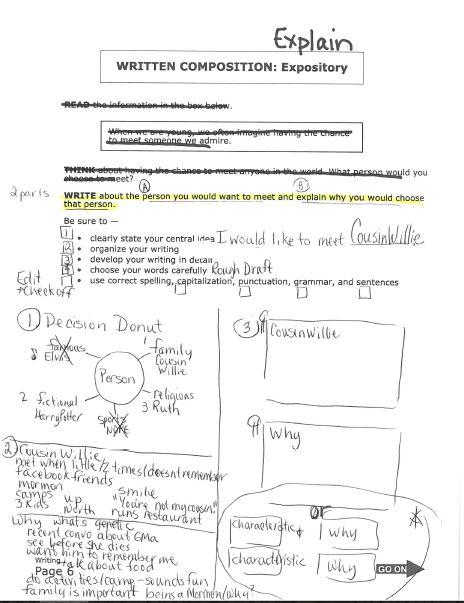 staar released essay test