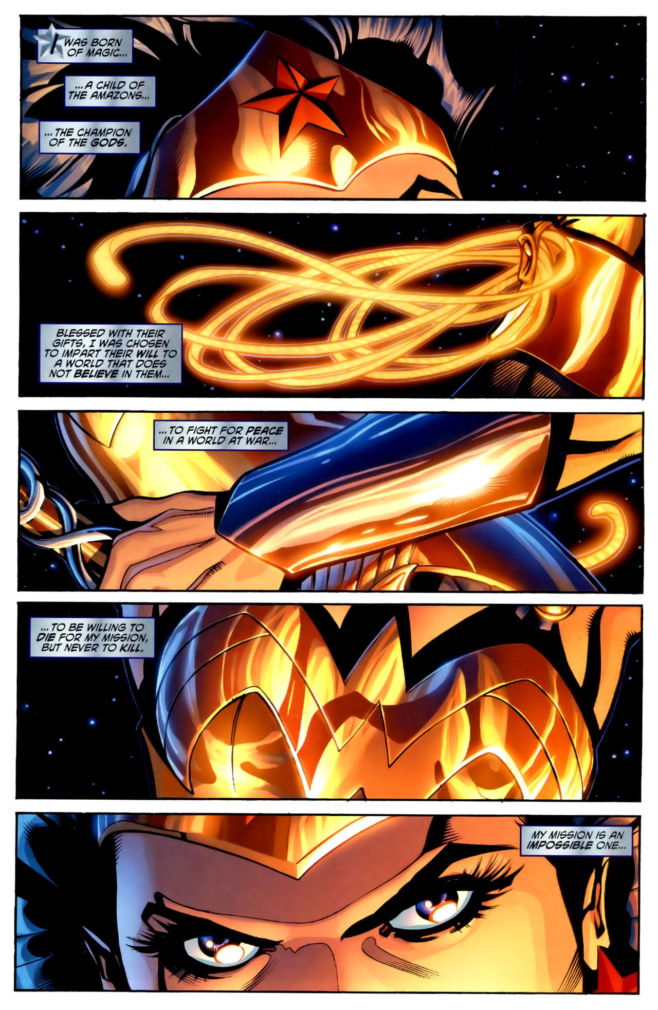 Read online Wonder Woman (2006) comic -  Issue #1 - 3