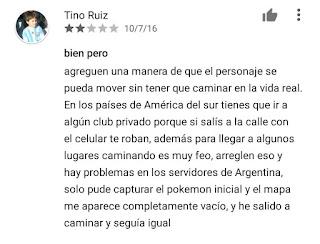 inseguridad al jugar pokemon go