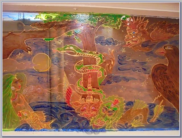 роспись витражными красками из 6 цветов