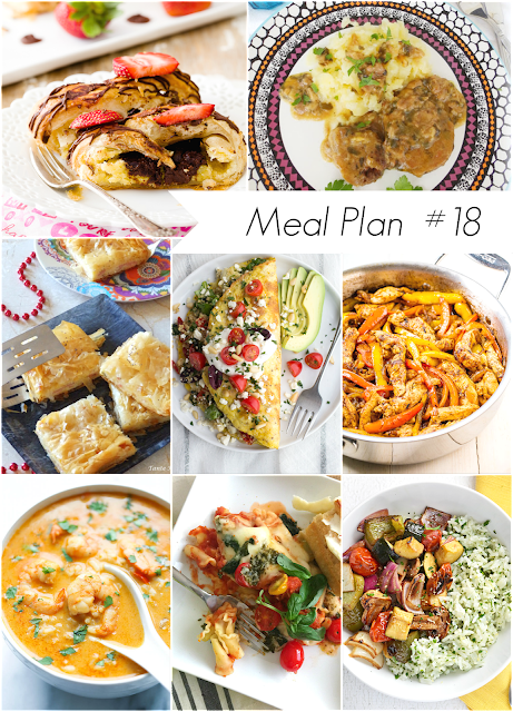 Ioanna's Notebook - Weekly meal plan #18 - Healthy and delicious recipes for the whole family - Το μενού της εβδομάδας - Νόστιμες και υγιεινές συνταγές για όλους