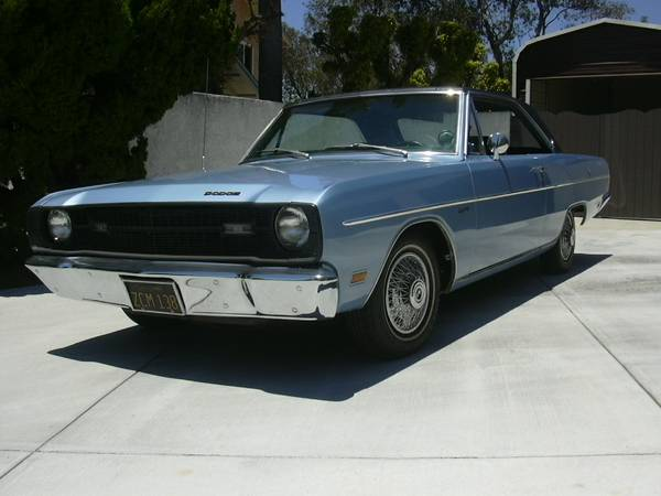 Craigslist Cars Ri: Daily Turismo: 10k: Dart To Be Different: 1969 Dodge Dart