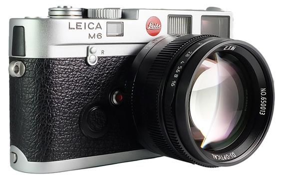 Объектив 7Artisans 50mm f/1.1 на камере Leica M6