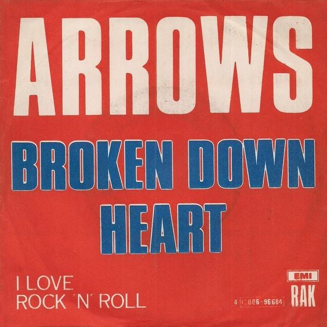 I love rock n' roll. Arrows