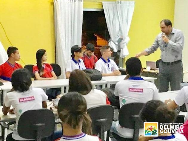 Assessoria de Comunicação de Delmiro Gouveia realiza palestra sobre Reforma Trabalhista
