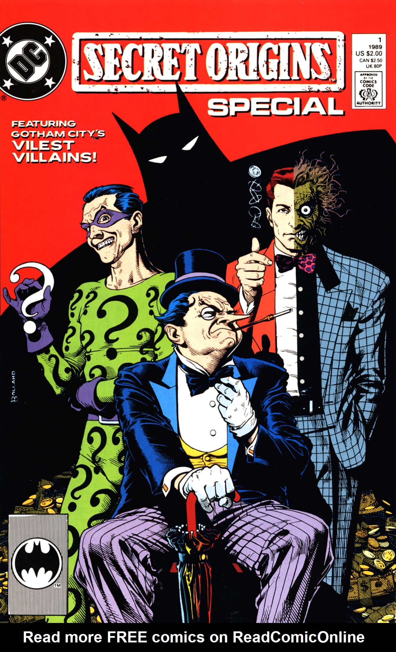 Read online Secret Origins (1986) comic -  Issue # _Special 1 - 1