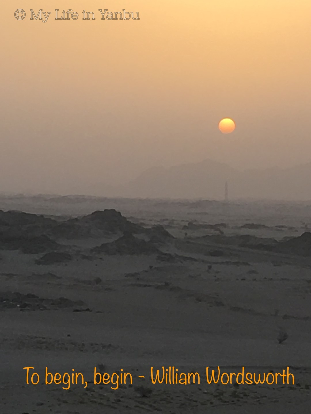 Watch Sunrise from Yanbu Al Nakheel