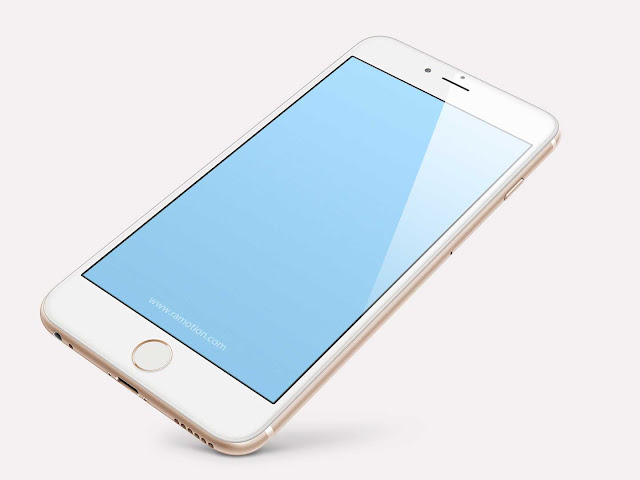 Free iPhone 6 PLUS PSD Mockups