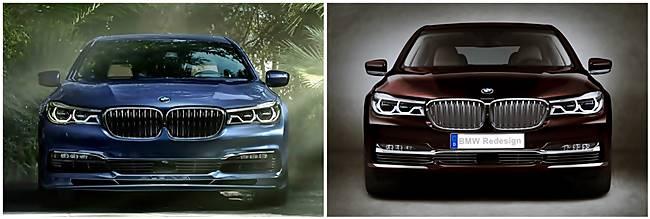 BMW M760Li G12 vs BMW Alpina B7 Bi-Turbo