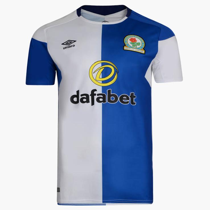Blackburn Rovers 17-18 Home Kit Released - Footy Headlines 7cf3aabd2