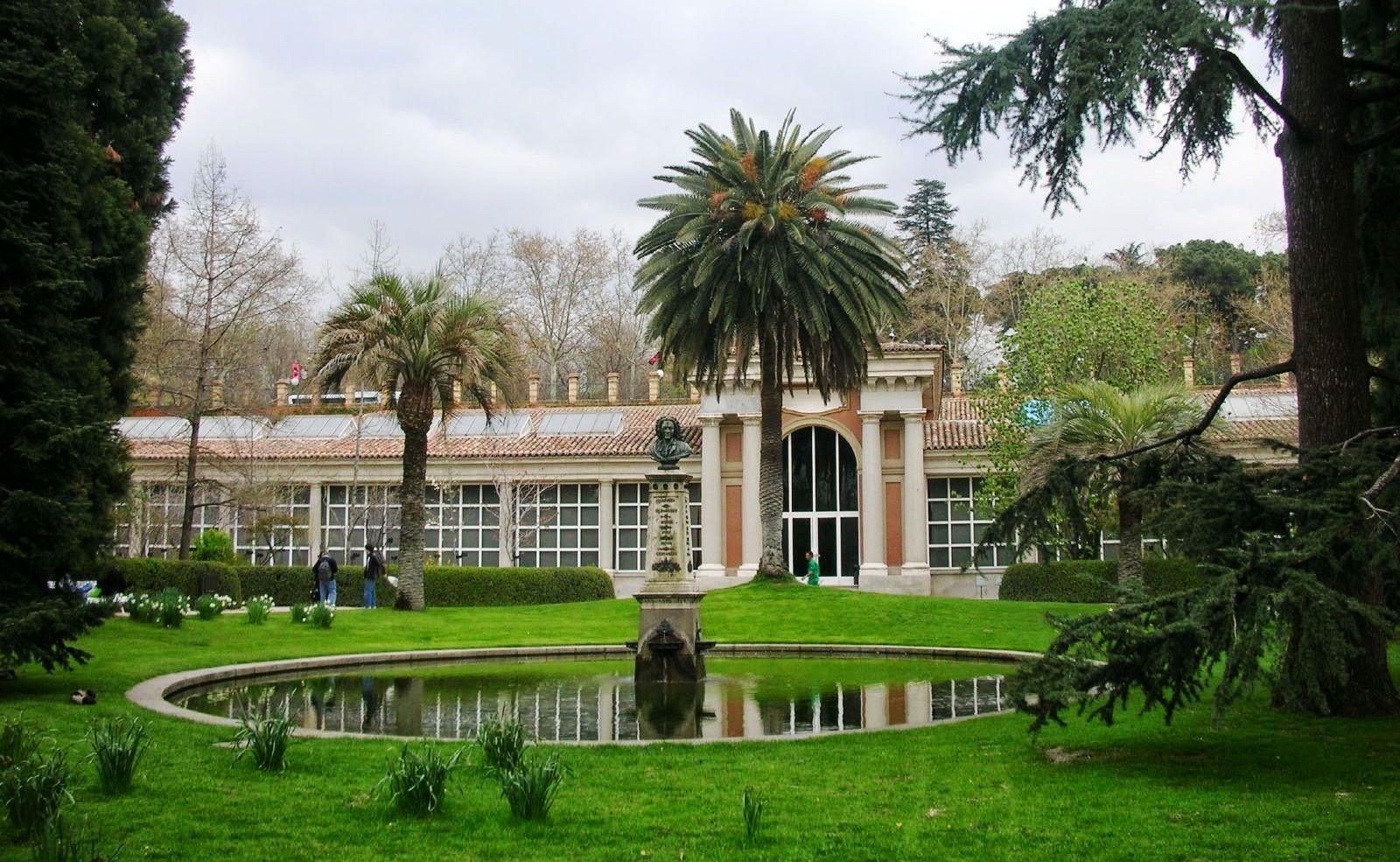 Real Jardín Botánico em Madri na Espanha
