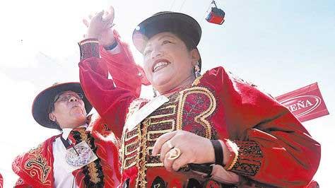 Unos 20.000 pícaros ch'utas despidieron el Carnaval 2016