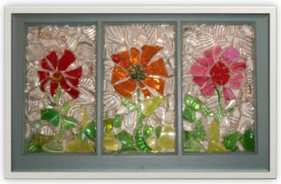 ideas para reciclar vidrio, manualidades con vidrio