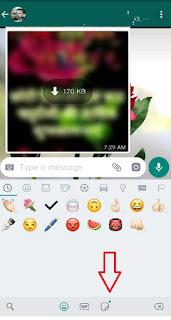 sticker kaise use kare in whatsapp