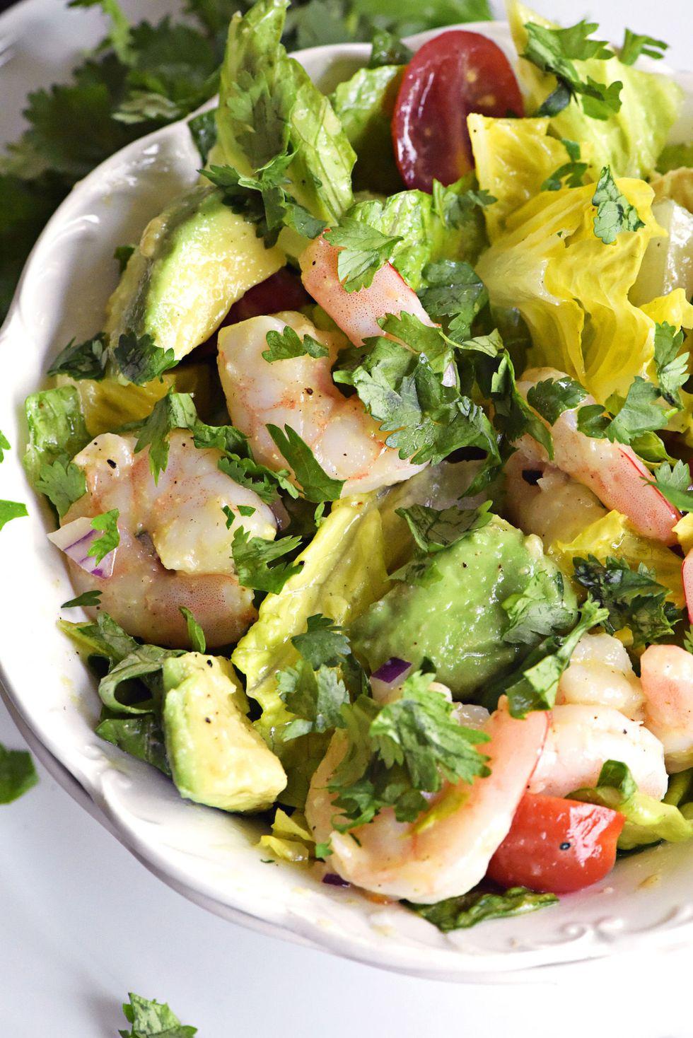Cilantro-Lime Shrimp Salad
