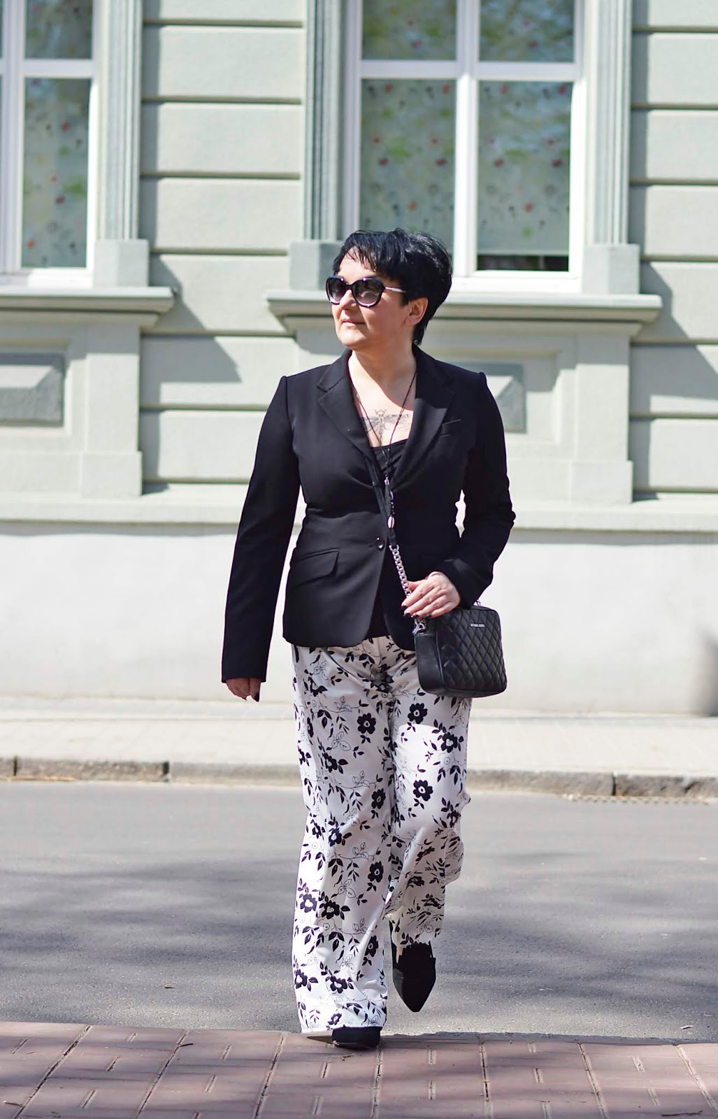 Spodnie Piżamowe z Żakietem  Pajamas Pants with Jacket
