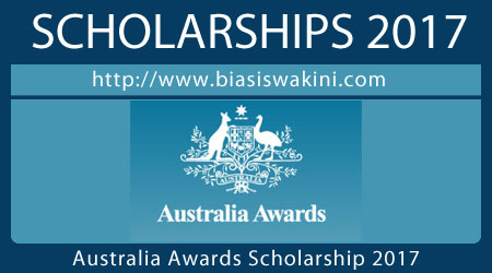 Australia Awards Scholarship 2017