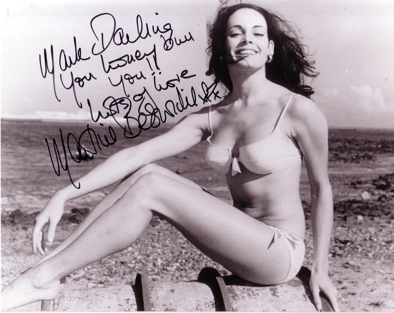 martine beswick nude