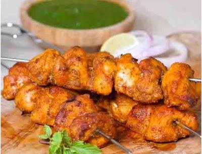 Chicken Banjara Kebab Recipe