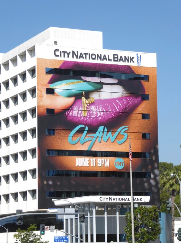 Giant Claws season 1 billboard