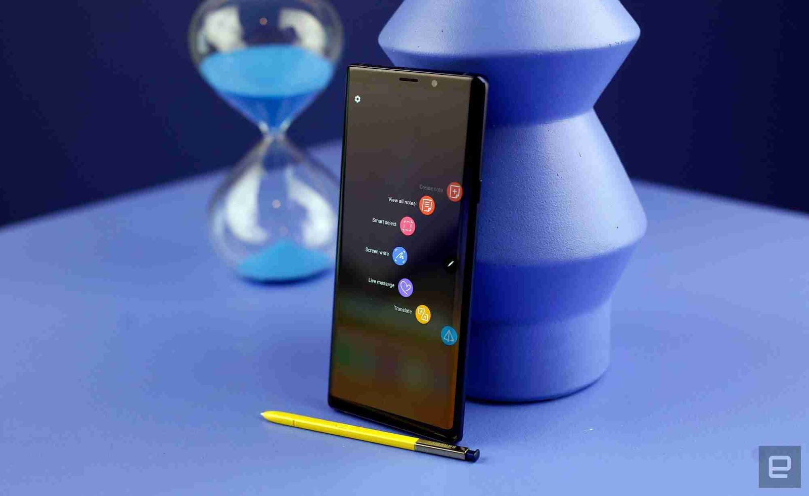 The Samsung Galaxy Note 9 and Its Remote Control S-Pen