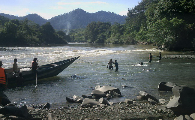 Xvlor Kayan Mentarang National Park is rivers and forests system of North Borneo
