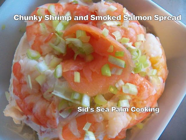 Chunky Shrimp and Smoked Salmon Spread