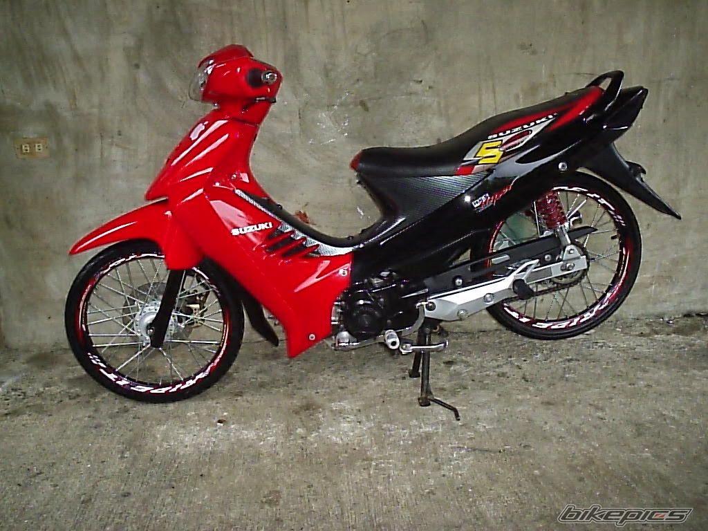 Kumpulan Foto Modifikasi Motor Suzuki Shogun SP Terbaru Maniak