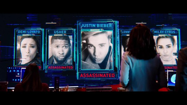 "Miss Cyrus appeared in one of the fragments of the film ""Zoolander 2"", the filming of which was attended by Justin Bieber and Ariana Grande. Premiere next year."