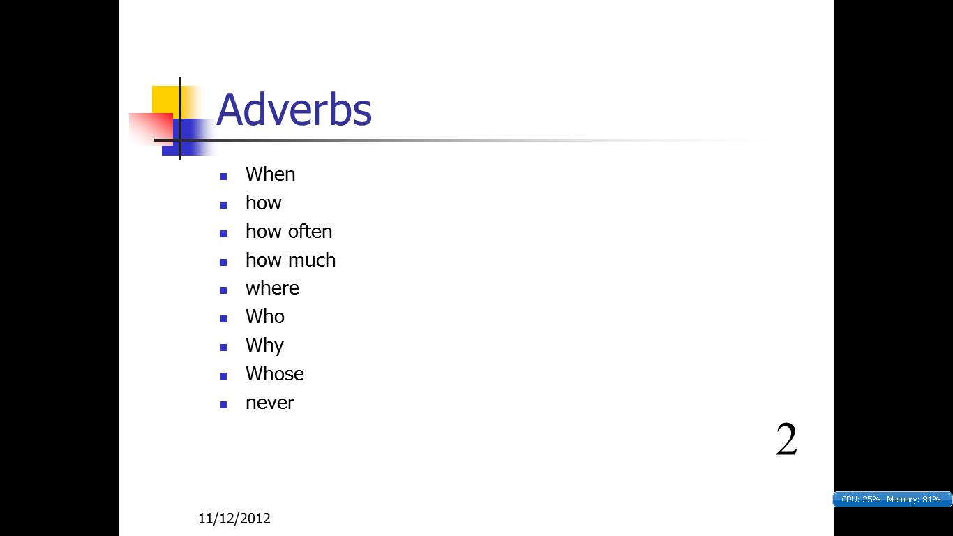 English Made Simple Adjective Adverbs Verbs Pronouns