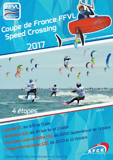 Affiche de l'Engie Kite Tour 2017