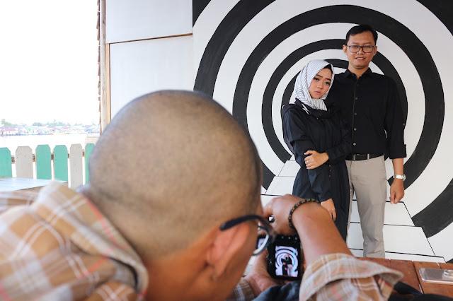 Photo Shoot di Kampung warna warni Kuantan Tepian Kapuas