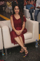 Pragya Jaiswal in Stunnign Deep neck Designer Maroon Dress at Nakshatram music launch ~ CelebesNext Celebrities Galleries 097.JPG