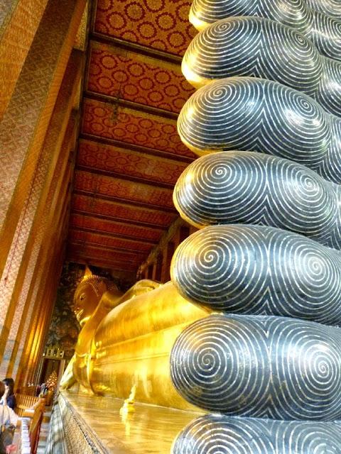 buda reclinado bangkok - visita imprescindible en Bangkok