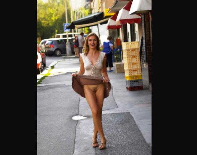 Девушки гуляющие без трусиков WWW.EROTICAXXX.RU Как девушки гуляют без трусов (18+)