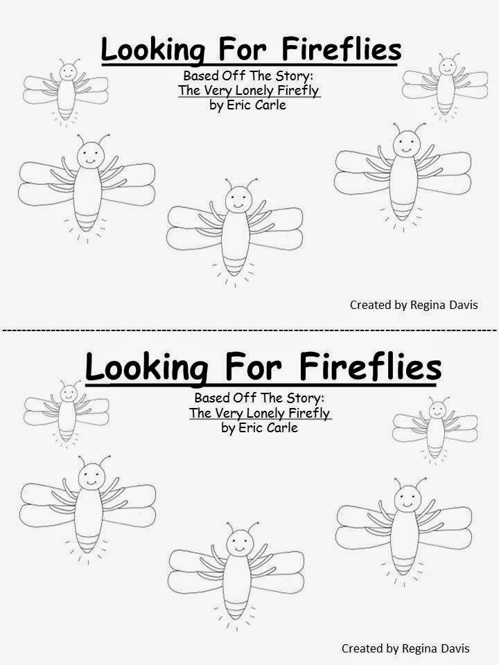 Lonely Firefly Pages Coloring Pages