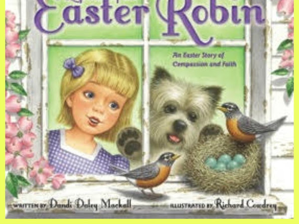 GIVEAWAY :The Legend Of The Easter Robin