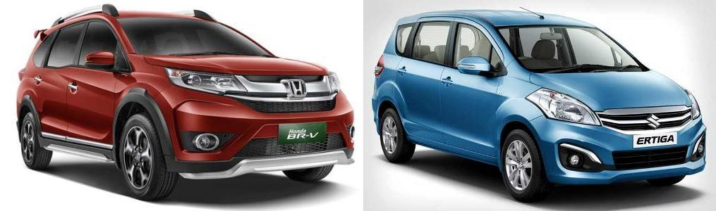 Honda brv vs ertiga comparison review ertigas top end variant the zdi manual diesel costs 106 lakh on road delhi which is 45 lakh rs cheaper than the brvs vx variant diesel fandeluxe Image collections